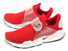 Nike Sock Dart Gym Red/Black-White Slip-On Casual Sneakers 2016 NSW 819686-601