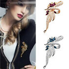 New Fine Crystal Brooches Lovely For Female Retro Fashion Women Jewelry Gift FM