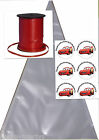 Disney Cars Themed Personalised Sweet Cones Birthday Party Bags Ribbon Stickers