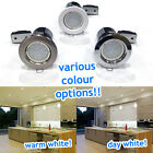 20 x 5W LED Fire Rated Ceiling Downlighters Spot Lights Downlights GU10 240v UK