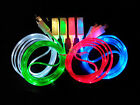 2016 New LED Light Micro USB Charger Data Sync Cable for for Android Smartphone