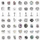 New Space Silver charms Bead Fit European 925 Sterling Silver Bracelet Chain CA6