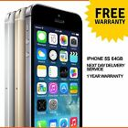 Apple iPhone 5S 64GB Factory Unlocked Sim Free Smartphone - Various Colours