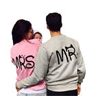 New 2016 Fashion Autumn Casual Long Sleeve Mr Mrs Letter Print Pullover Hoodies
