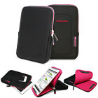 "GreatShield Shockproof Nylon Sleeve Travel Case w/ Kickstand for 7"" 8"" Tablets"