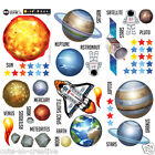 Planet Wall Stickers Solar System Wall Stickers Space Wall Stickers SSYS 04
