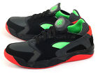 Nike Air Flight Huarache Low Black/Green-Anthracite-Light Crimson 819847-001