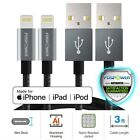 FosPower Nylon Braided Jacket 8 Pin Lightning Sync Charge Cable for Apple iPhone