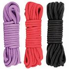 Adult Sex Fantasy Cotton Bondage Rope Hand Body Restraints Strap Rope SM Game