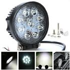 Foco led 27W 12v/24v 6000K 2000lm, barco, jeep 4x4, camión, tractor, coche, IP67