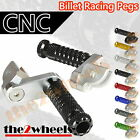 Multi Step Position Adjustable Foot Pegs FRONT Yamaha YZF R1 98-99