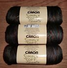 Lot of 3 Skeins Caron Simply Soft Paints Yarn, 4 oz ea. *You Choose Color*