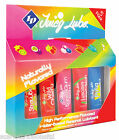 ID LUBRICANT LUBE ASSORTED WATER-BASED PREMIUM & JUICY LUBE CHOICE 5 x 12ML PACK