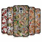HEAD CASE DESIGNS CHRISTMAS PRINTS HARD BACK CASE FOR SAMSUNG GALAXY S5 S5 NEO