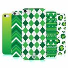 HEAD CASE DESIGNS SAINT PADDYS DAY PATTERNS BACK CASE FOR APPLE iPHONE 5 5S SE