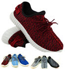 NEW MEN'S FASHION DESIGNER KNITTED TRAINERS YEES SHOES SIZE 3 4 5 6 7 8