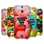 HEAD CASE DESIGNS SUGARY THOUGHTS HARD BACK CASE FOR HTC ONE M8