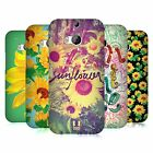 HEAD CASE DESIGNS SUNFLOWER HARD BACK CASE FOR HTC ONE M8 M8S