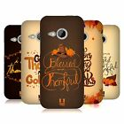 HEAD CASE DESIGNS THANKSGIVING TYPOGRAPHY HARD BACK CASE FOR HTC ONE MINI 2