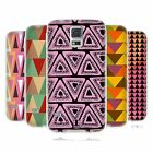 HEAD CASE DESIGNS TRIANGLES SOFT GEL CASE FOR SAMSUNG GALAXY S5 S5 NEO