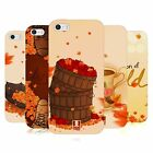 HEAD CASE DESIGNS AUTUMN SOFT GEL CASE FOR APPLE iPHONE 5 5S SE
