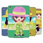 HEAD CASE DESIGNS CHIBI SUMMER GIRLS SOFT GEL CASE FOR APPLE iPAD MINI 1 2 3