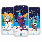HEAD CASE DESIGNS CHRISTMAS ZOMBIES SOFT GEL CASE FOR HTC ONE MINI 2
