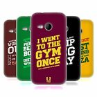 HEAD CASE DESIGNS FUNNY WORKOUT STATEMENTS SOFT GEL CASE FOR HTC ONE MINI 2