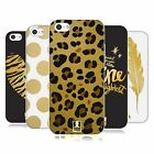HEAD CASE DESIGNS GRAND AS GOLD SOFT GEL CASE FOR APPLE iPHONE 5C