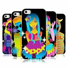 HEAD CASE DESIGNS NEON FANCY SOFT GEL CASE FOR APPLE iPHONE 5C