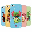 HEAD CASE DESIGNS QUIRKY MONSTERS SOFT GEL CASE FOR APPLE iPHONE 5 5S SE