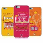 HEAD CASE DESIGNS TRAVELLERS NOTE SOFT GEL CASE FOR APPLE iPHONE 6 6S