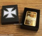 Gold Plated 1oz COIN or BAR,  GERMAN   IRON CROSS,  WW1 2 Reichbank