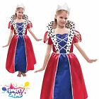 Girls Queen Fancy Dress Costume & Tiara Child Infant Outfit