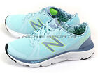 New Balance W690RG4 D Light Blue & Grey & White Lightweight Running Shoes NB