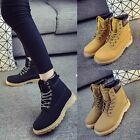 Classic Women Flat Ankle Boots Lace Up High Top Sneakers Ladies Casual Shoes New