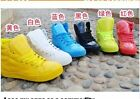 Women New High Top Sneakers Lace Up Candy Color Athletic Girls Board Shoes Size