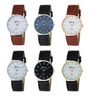 Ravel Gents / Mens Classic Leather Strap Watch
