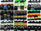 12 Pairs Mens Designer Cotton Rich Stripy Diamond Argyle Socks Adults Size 6-11