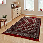 Think Rugs Regal 0636A Traditional Woven Rug, Red