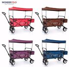 2017 Best Feature 4th Gen Canopy Folding Wagon Power Handle Spring Bounce Brake