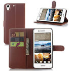 Litchi Wallet Leather Stand Flip Credit Magnet Case Cover Fr Alcatel Model brown