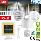 Dual Security Detector Solar Spot Light Motion Sensor Outdoor 22 LED Floodlight  фото