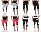 Men's TRUE ROCK Grey Black White Red bottoms jogger shorts pants SUPREME-100