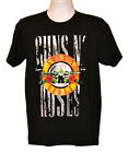 Guns N' Roses T-shirt Southern Rock Band Graphic Tee Black Preshrunk Cotton NWT image