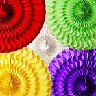 Honeycomb Tissue Paper Fan Hanging Round Spiral 16