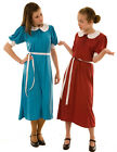 Peter Pan Collar-Tea- Dance Dress-1940'S WW2 WARTIME DRESS Burgundy Sizes 8-22