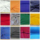 Discount Fabric Choose Your Color Polyester Lycra /Spandex 4 way stretch LY