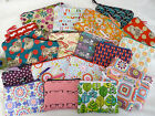 Handmade Purse or Cosmetic Bag Retro fabrics Choice of Size, butterflies, floral