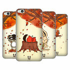HEAD CASE DESIGNS AUTUMN CRITTERS SOFT GEL CASE FOR HTC ONE X9